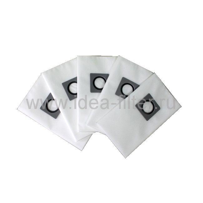 IDEA K-25 мешки для пылесоса KARCHER NT72, NT 82 - 5 штук (95 L)