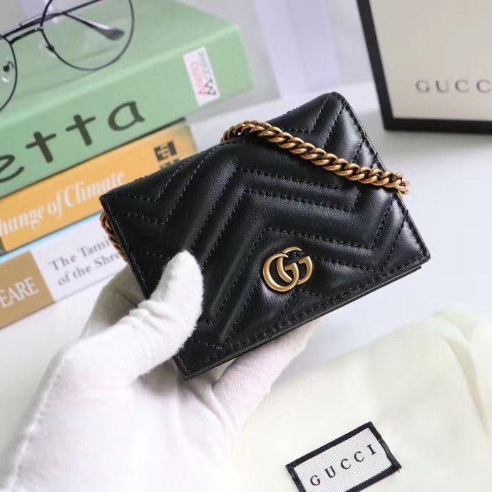Кошелёк Gucci Marmont GG 11 cm