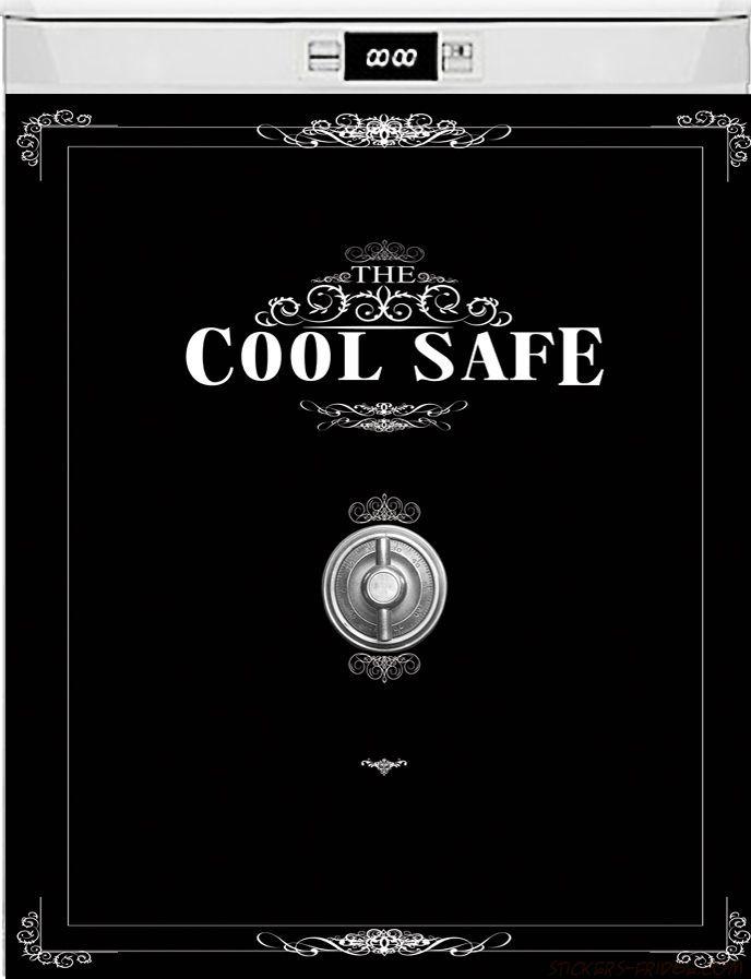 Наклейка на посудомоечную и стиральную машину - Cool Safe