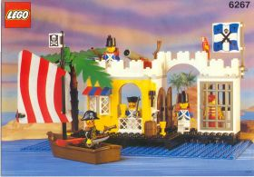 6267 Лего Бастион в лагуне