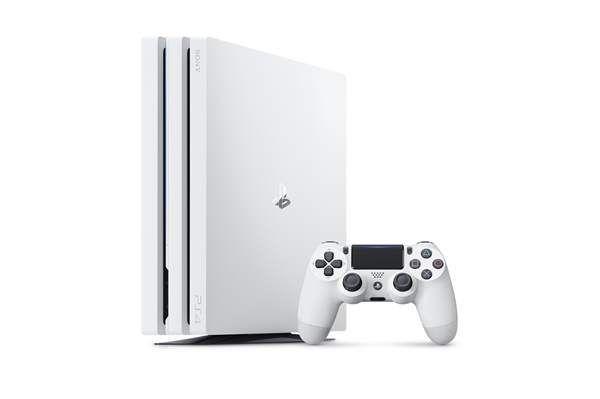 Игровая консоль Sony Play Station 4 Pro (CUH-7008B) (1Тб, белый)