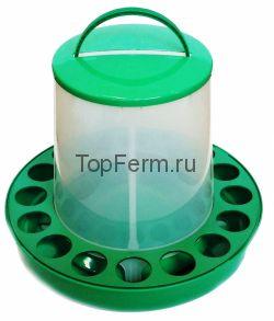 Кормушка бункерная 10 кг с круглыми ячейками