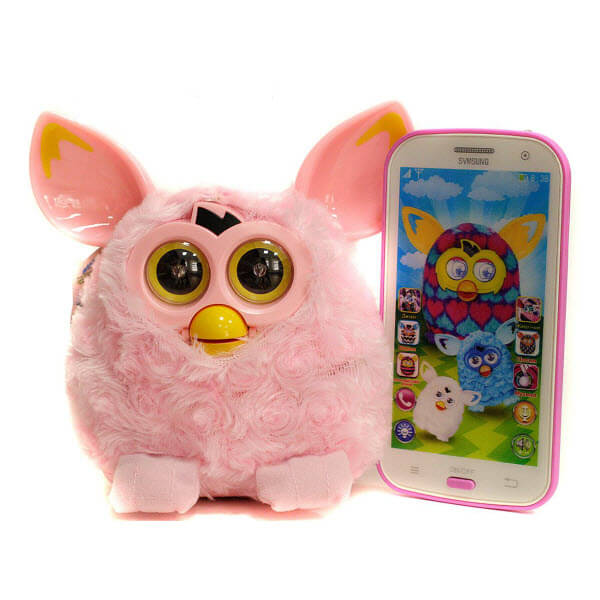 Интерактивная игрушка Ферби Пикси с телефоном