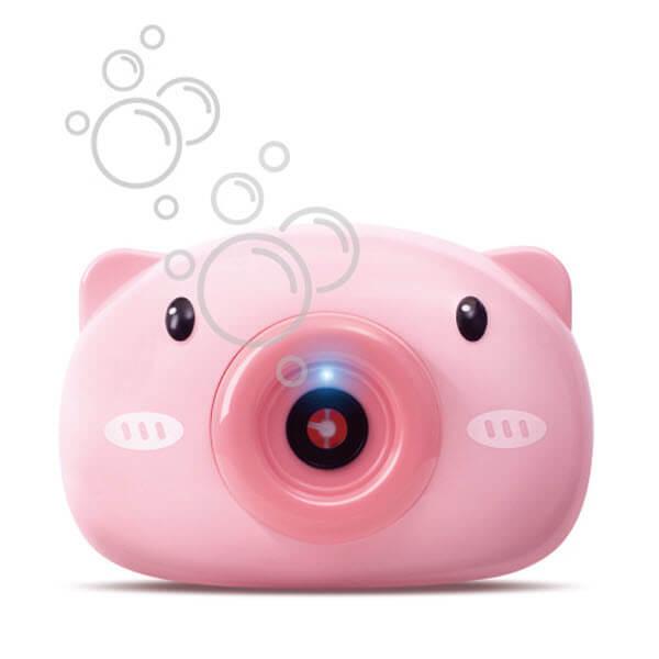 Фотоаппарат-генератор мыльных пузырей Хрюша