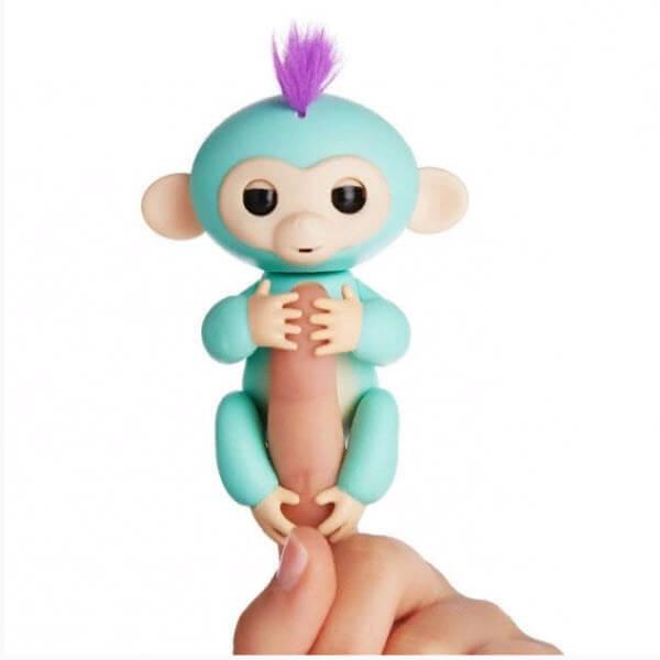 Интерактивная обезьянка Fingerlings (Цвет: Бирюзовый)