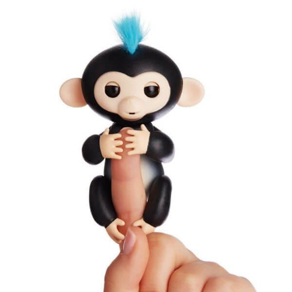 Интерактивная обезьянка Fingerlings (Цвет: Черный)
