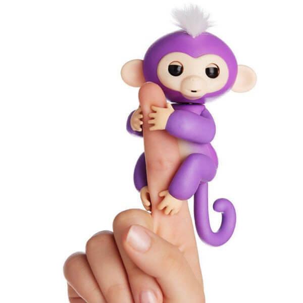 Интерактивная обезьянка Fingerlings (Цвет: Фиолетовый)