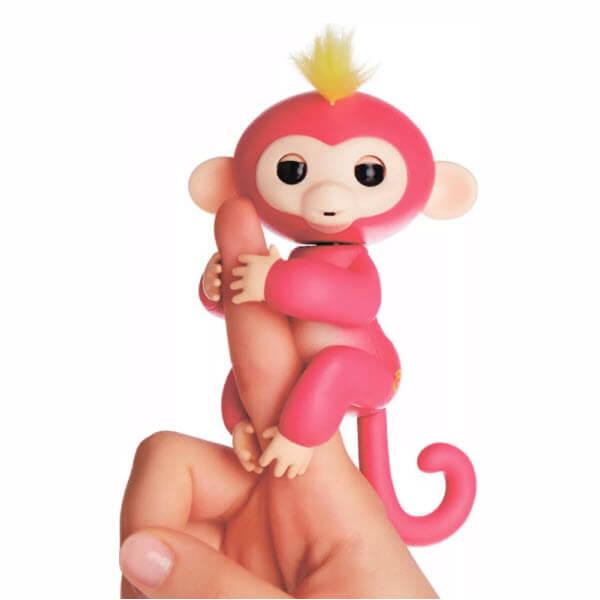 Интерактивная обезьянка Fingerlings (Цвет: Красный)