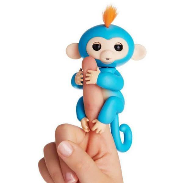 Интерактивная обезьянка Fingerlings (Цвет: Синий)