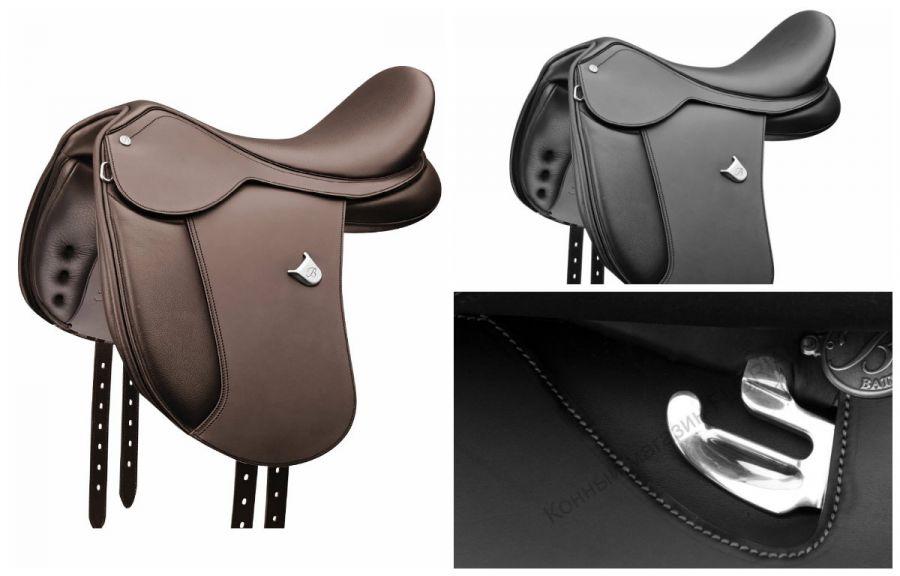 Седло Bates Pony Dressage (HART) ДЛЯ ПОНИ. Стандартное крыло