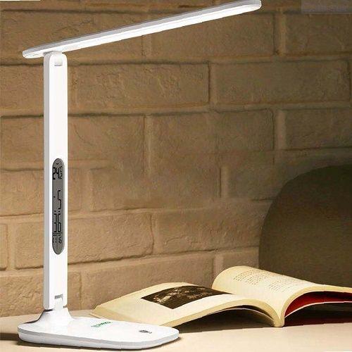 Настольная светодиодная лампа с регулируемой яркостью и календарём Led Calendar Table Lamp