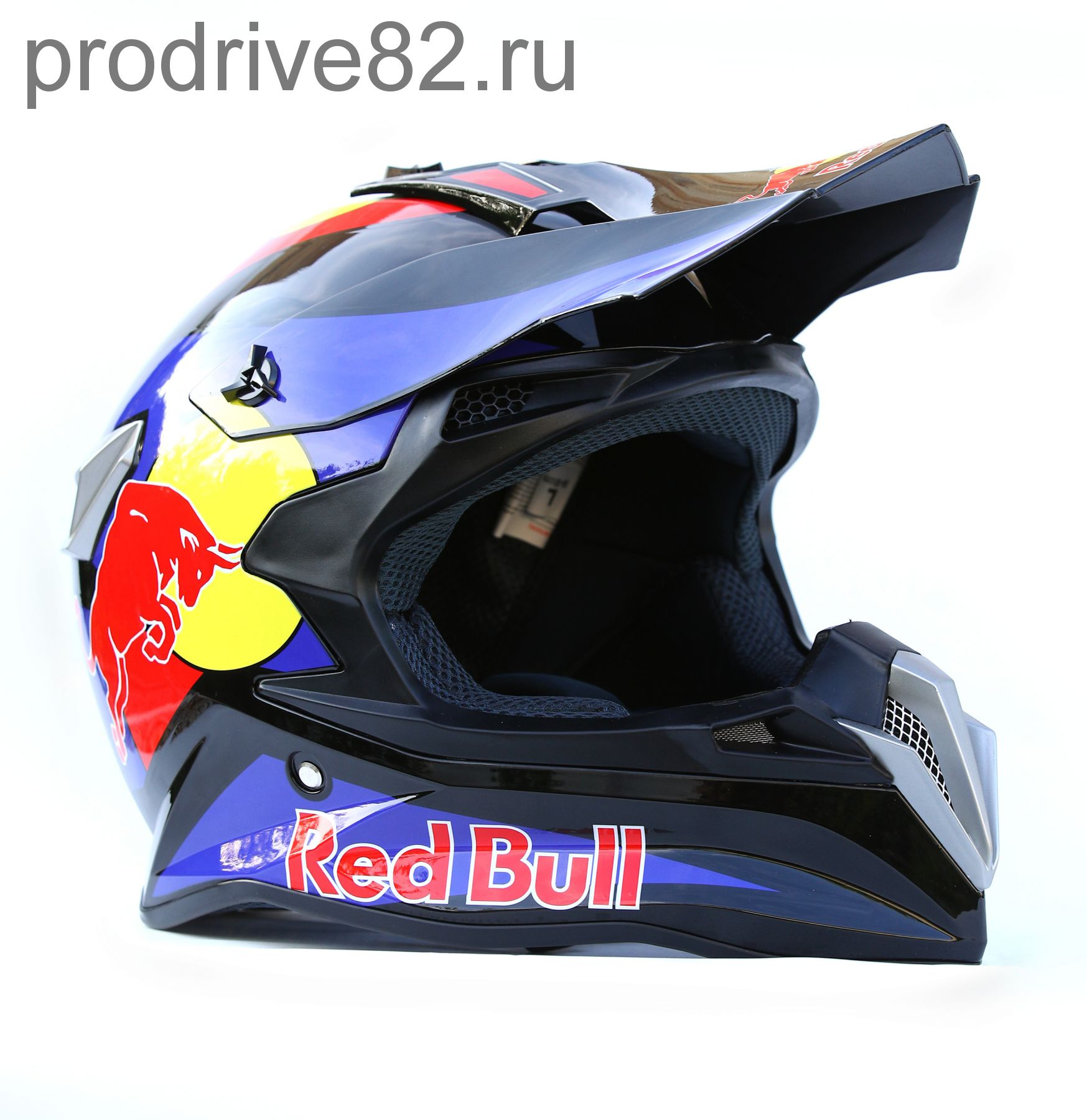 Шлем кроссовый Red Bull Blue