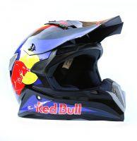 Шлем кроссовый Red Bull Blue фото 1