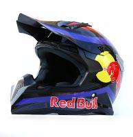 Шлем кроссовый Red Bull Blue фото 2