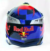 Шлем кроссовый Red Bull Blue фото 3