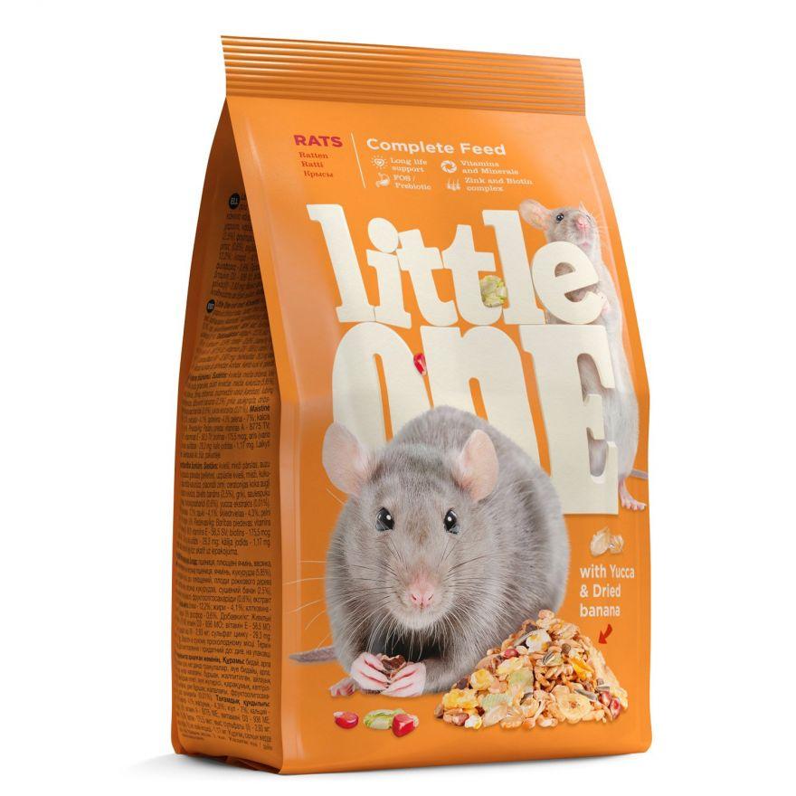 Корм Little One для крыс 900гр