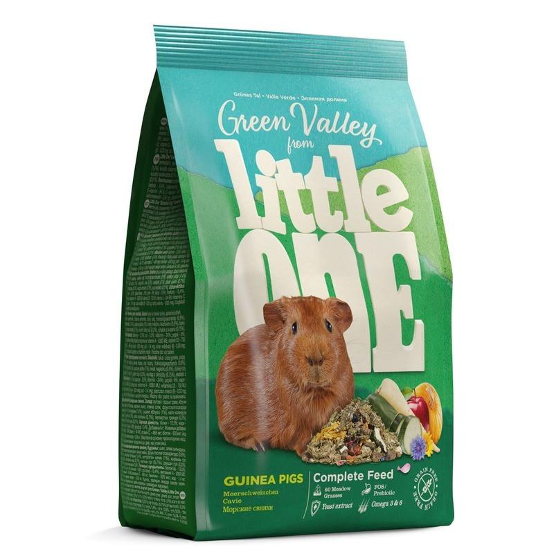 Корм Little One Зелёная долина из разнотравья для морских свинок 750г