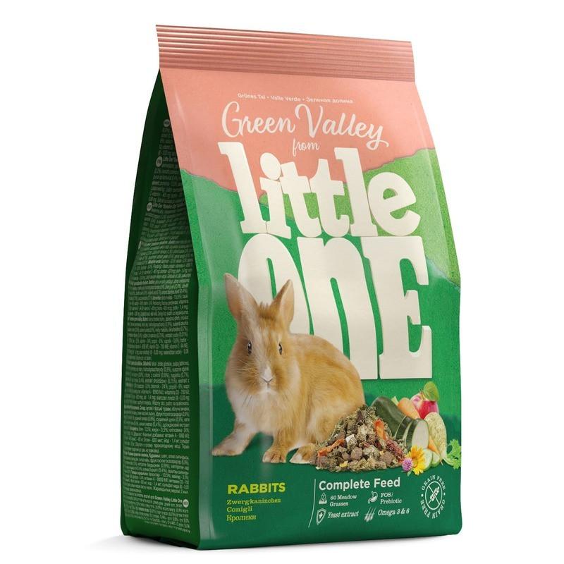 Корм Little One Зелёная долина из разнотравья для кроликов 750г