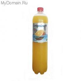 Напиток Витаминофф со вкусом апельсина 0,6 л*12