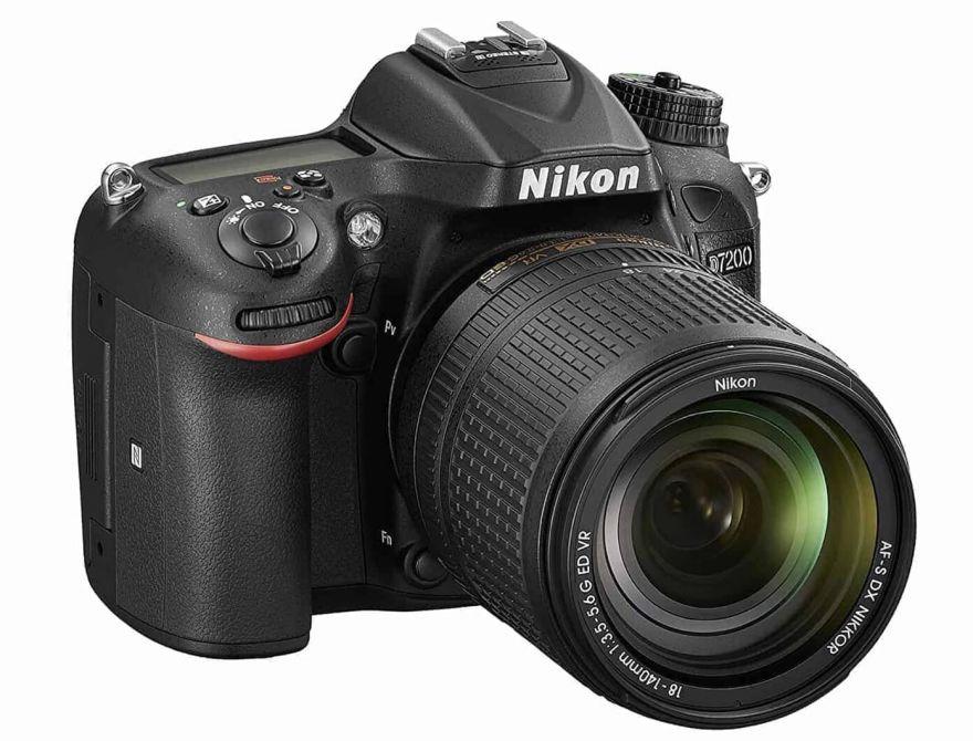 Nikon D7200 kit 18-55mm
