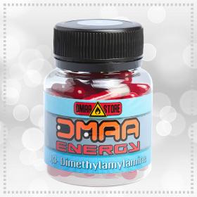 Предтренировочный комплекс DMAA (герань) (DMAA STORE) 100 мг 50 капсул