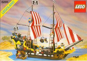 """6285 Лего Пиратский корабль """"Барракуда"""""""