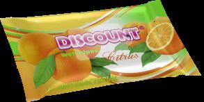 ТМ «Discount» 15 с ароматом цитруса антибактериальная