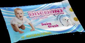 ТМ «Discount» 15 с экстрактом ромашки антибактериальная