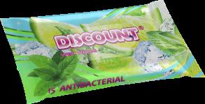 ТМ «Discount» 15 с ароматом мяты и лайма антибактериальная