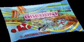 ТМ «Discount» 15 с ароматом морской свежести антибактериальная