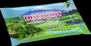 ТМ «Discount» 15 Зелёный чай антибактериальная