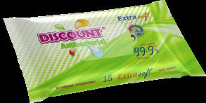 ТМ «Discount» Extra 15 АЛОЕ ВЕРА