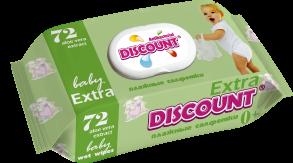 ТМ «Discount» Extra с клапаном 72 АЛОЕ ВЕРА