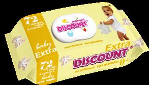 ТМ «Discount» Extra с клапаном 72 КАЛЕНДУЛА И ВИТАМИН Е