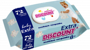 ТМ «Discount» Extra с клапаном 72 РОМАШКА
