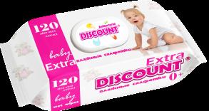 ТМ «Discount» Extra с крышкой 120 АЛОЕ ВЕРА