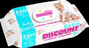 ТМ «Discount» Extra с крышкой 120 КАЛЕНДУЛА И ВИТАМИН Е