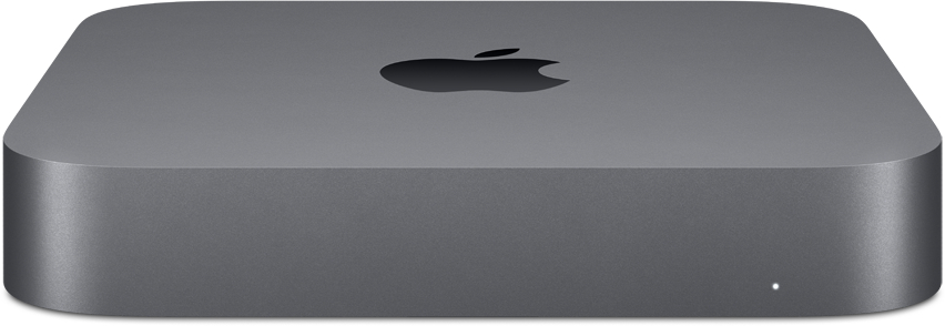 Настольный компьютер Apple Mac Mini (MXNF2RU/A) Intel Core i3-8100/8 ГБ/256 ГБ SSD/Intel UHD Graphics 630/OS X