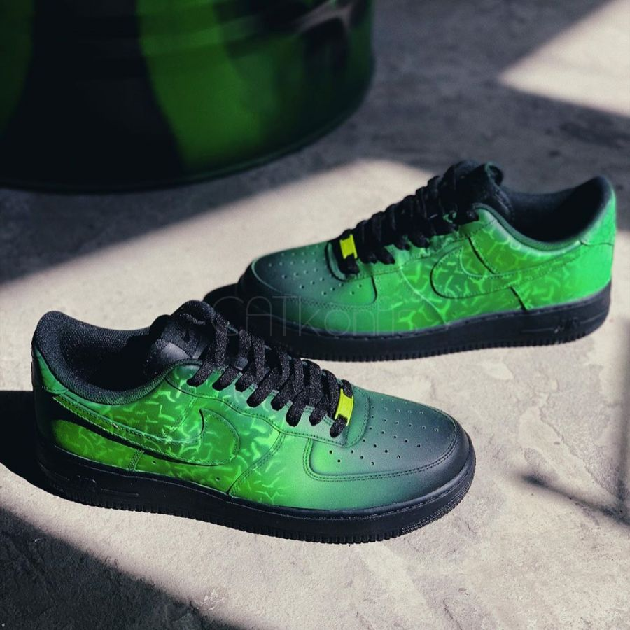 Nike Air Force 1 low Custom Amphibia