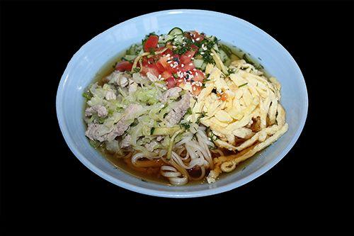 Холодный суп Кукси