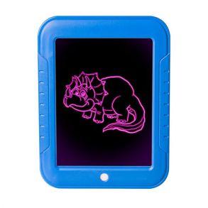 Волшебный планшет для рисования с подсветкой Magic Sketchpad (синий)
