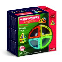 Магнитный конструктор MAGFORMERS 701010 Curve 20