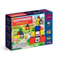 Магнитный конструктор MAGFORMERS 705007 WOW House set 28