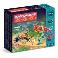 Магнитный конструктор MAGFORMERS 703011 Adventure Mountain 32 set