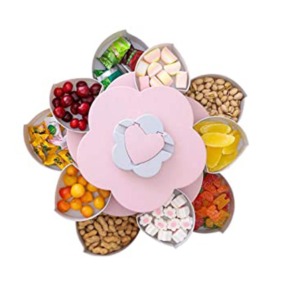 Раздвижная менажница Candy Box Pattern Rotating