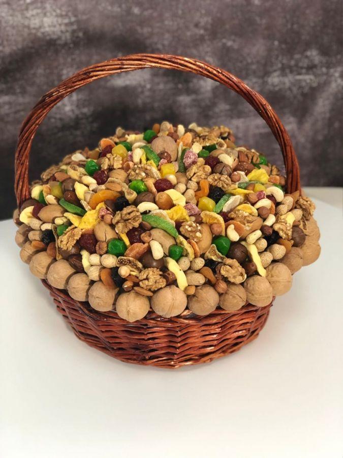 Ореховый букет №4 Корзина