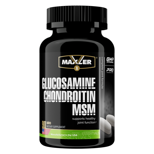 Glucosamine-Chondroitine-MSM (Maxler)