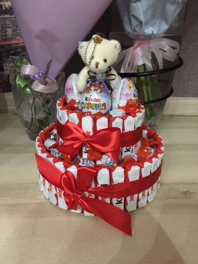 Букет Киндер торт №2