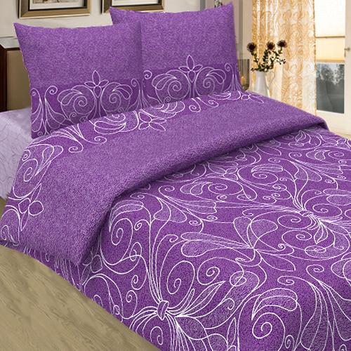 Жемчужина (фиолетовая) постельное белье бязь