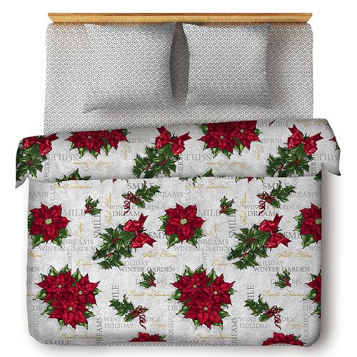Рождественская звезда постельное белье бязь